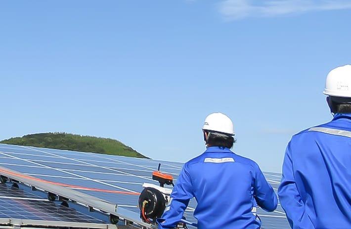 太陽光発電所イメージ